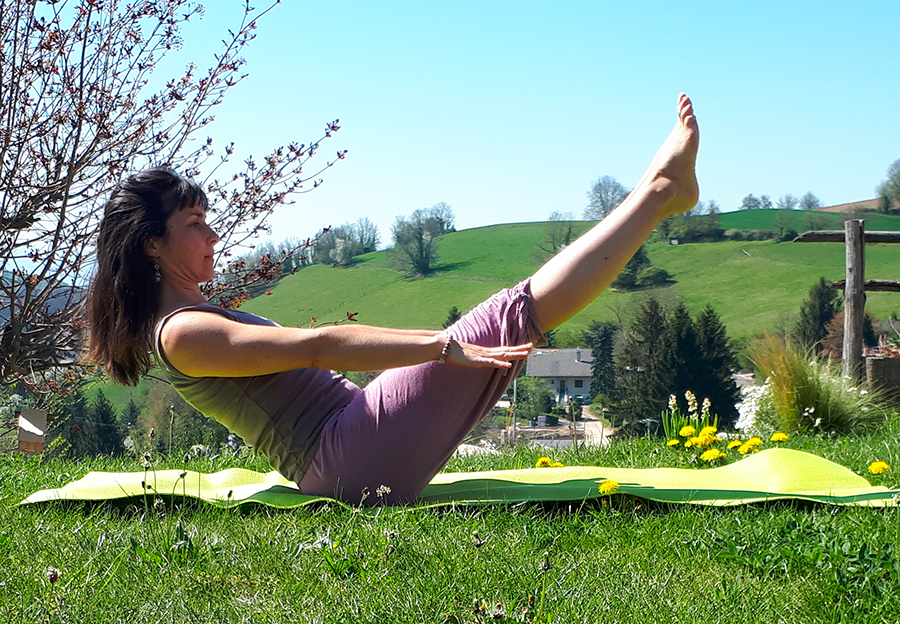 Séance de yoga en live