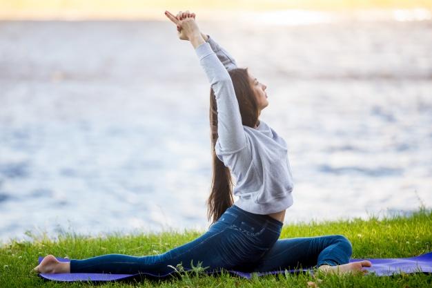 Yoga étirement du dos